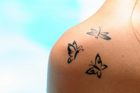 Butterfly tattoos? I love them